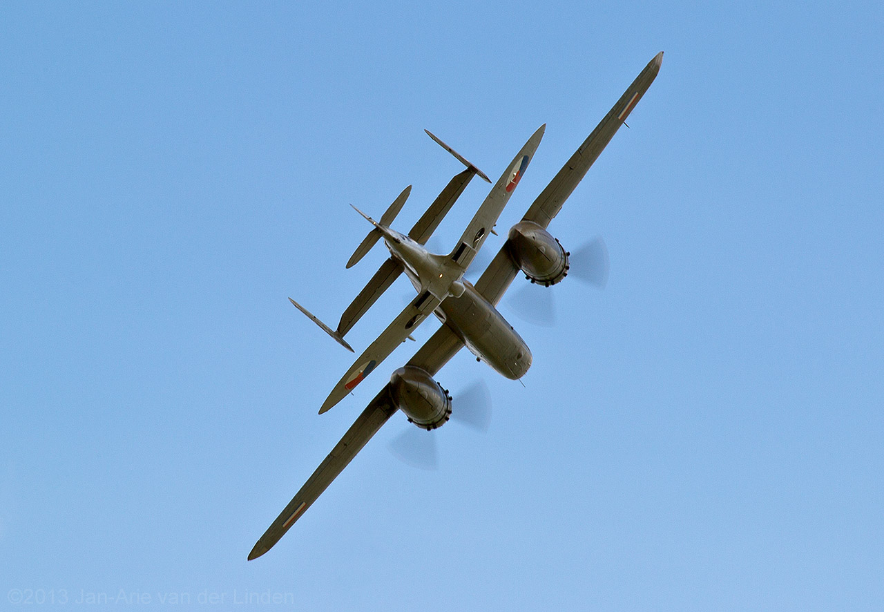 B25 Spitfire Mk IX of the Dutch Airforce Historic Flight. ©2013 Jan-Arie van der Linden all rights reserved.