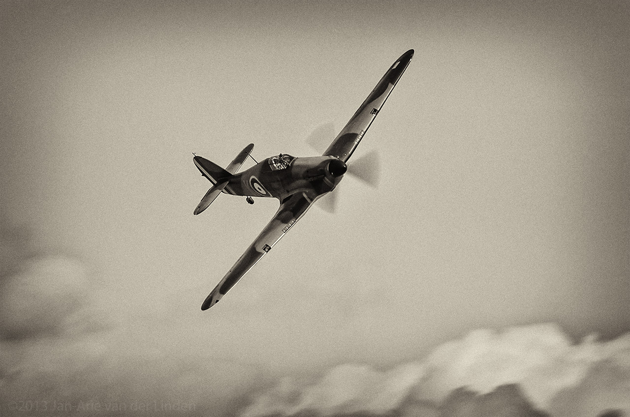 Hawker Hurricane Mk IIc  ©2013 Jan-Arie van der Linden all rights reserved.