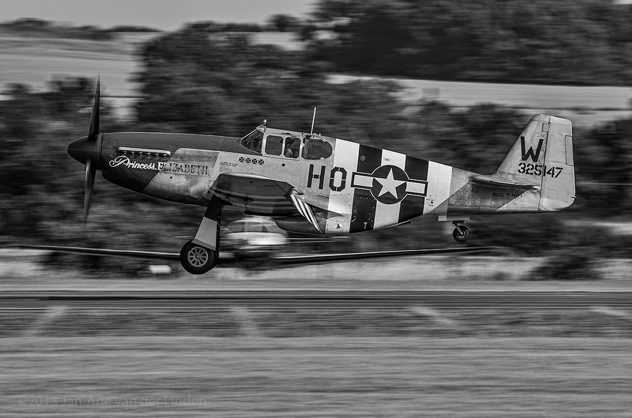 P51C Mustang Princess Elizabeth   ©2013 Jan-Arie van der Linden all rights reserved.