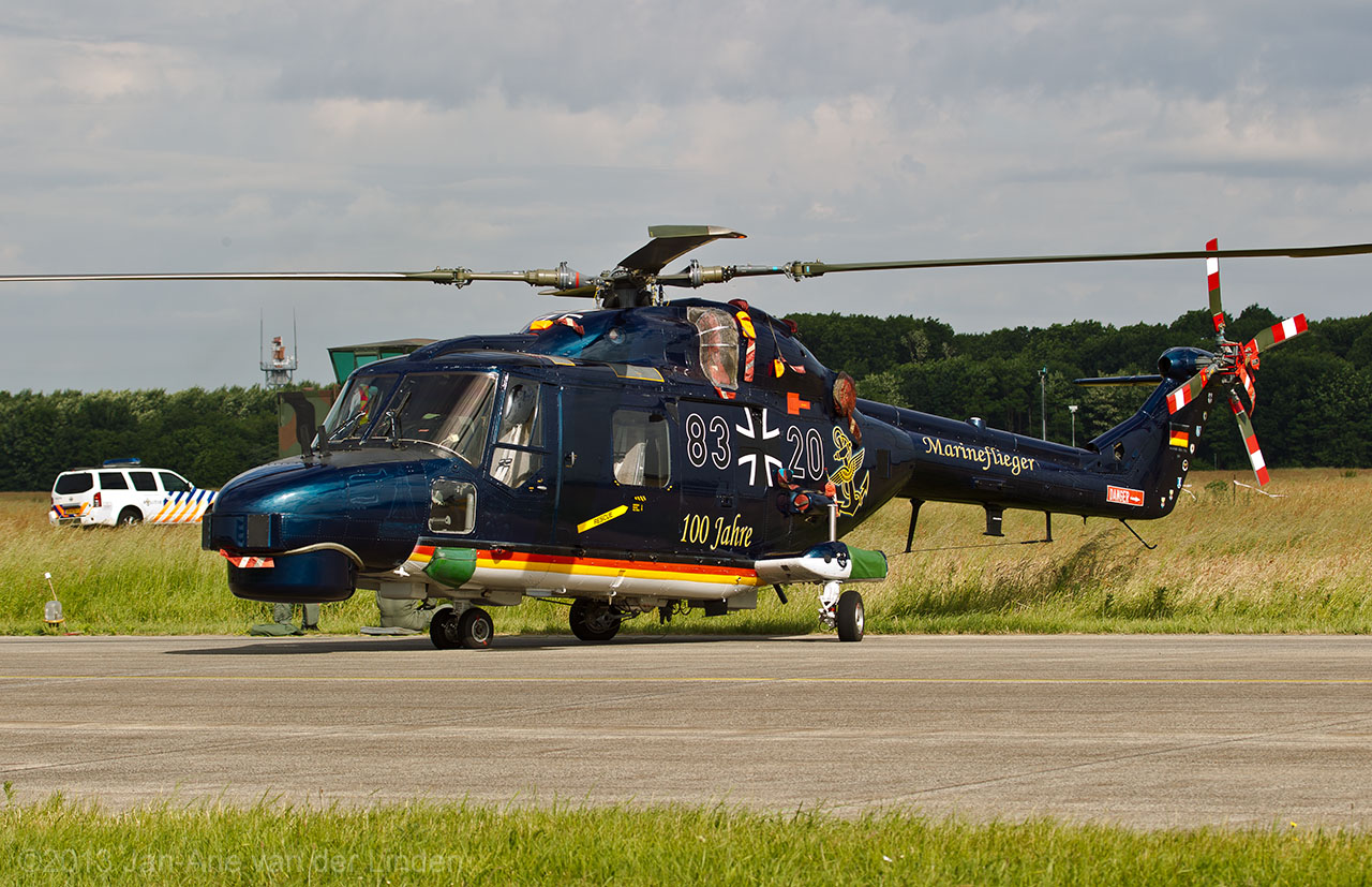Marineflieger Westland Lynx  ©2013 Jan-Arie van der Linden all rights reserved.