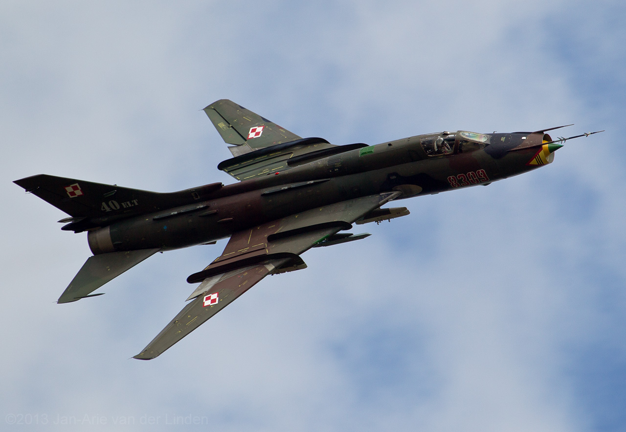 Polish Airforce Su22 Fitter  ©2013 Jan-Arie van der Linden all rights reserved.
