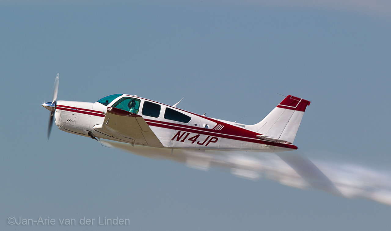 Beechcraft Bonanza ©2014 Jan-Arie van der Linden all rights reserved.